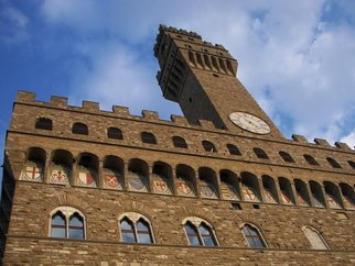 Laurie Delaney; Palazzo  Vecchio, 2011, Original Photography Color, 10 x 8 inches. Artwork description: 241 Italy, Florence, Castle...