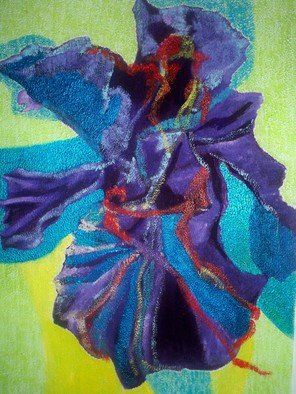 Luis Burgos; Blue Orchid Exotic, 2007, Original Painting Oil, 24 x 32 inches. Artwork description: 241  Blue orchid exotic ...