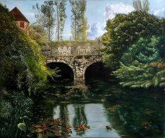 Luiz Henrique Azevedo; Reflections, 2007, Original Painting Oil, 65 x 54 cm. Artwork description: 241 The pleasure of life in a special place. ...