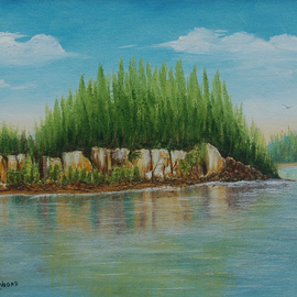 Lora Vannoord, , , Original Painting Oil, size_width{Pleasant_Cove-1515347450.jpg} X 11 inches