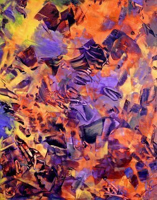 Lynda Lehmann; Firestorm, 2011, Original Painting Acrylic, 22 x 28 inches. Artwork description: 241 This painting expresses my emotional response to recent events in Japan, to the ongoing devastation, grief and loss endured by the Japanese people.Firestorm is 22 x 28 inches, painted in acrylic on gallery- wrapped canvas. It can be framed or hung without a frame.  ...
