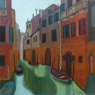 Madina Art; Venice, 2014, Original Painting Oil, 60 x 60 cm. Artwork description: 241  This is ORIGINAL oil painting on canvas. My signature is in the lower right corner. Participated in one exhibition. ...