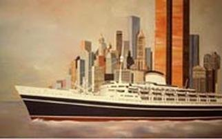 Ronald Mallory; Andreadoria, 2000, Original Printmaking Other, 18 x 24 inches. Artwork description: 241 gicle print, hand painted. Original painting was commisioned by he port authority of new york and hung in the world trade center. original was destroyed in the attack on 911...