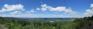 Charles Baldwin; Harris Hill Scenic Overlook, 2019, Original Photography Digital, 51 x 15.9 inches. Artwork description: 241 A nice day and a nice view from the Harris Hill Overlook in Big Flats, New York...