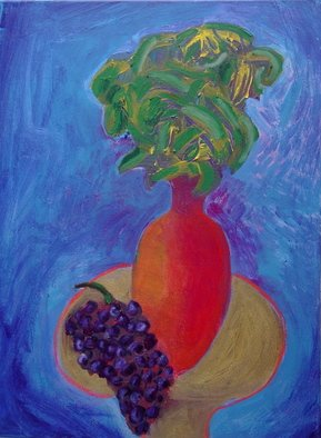 Marc Awodey; Blue Still Life, 2006, Original Painting Other, 18 x 24 inches.