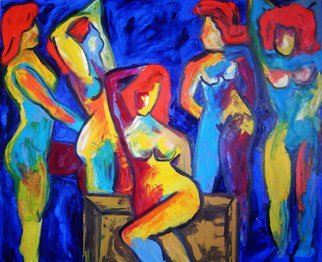 Marcia Pinho; TPM, 2005, Original Painting Oil, 100 x 120 cm. Artwork description: 241    Expressionism, figurative, painting, acrylic and ink, canvas                                          ...