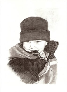 Marcia Collins; Imp, 2003, Original Drawing Charcoal, 11 x 14 inches. Artwork description: 241  Commissioned Portrait ...