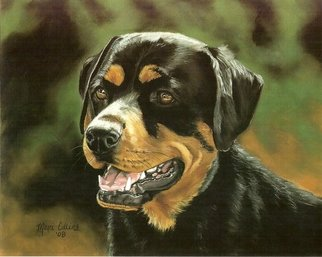 Marcia Collins; Roxy, 2008, Original Pastel, 14 x 11 inches. Artwork description: 241   14. 0 ...