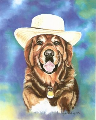 Marcia Collins; Rusty, 2008, Original Pastel, 11 x 14 inches. Artwork description: 241  this particular Retriever was a beloved friend and greeter at our local Garden shop. His name was Rusty and I donated this portrait to the Owners who loved him well. Prints only are available ...