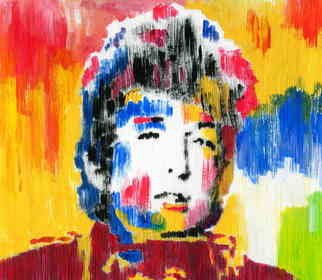 Marco Mark; BOB DYLAN COLLAGE 0971, 2005, Original Printmaking Giclee, 16 x 20 inches. Artwork description: 241 BOB DYLAN GICLEE ON GALLERY WRAPPED CANVAS, READY TO HANG. ...