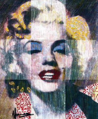Marco Mark; MARILYN MONROE, 2006, Original Printmaking Giclee, 16 x 20 inches. Artwork description: 241  LIMITED EDITION  FINE ART PRINT ON PAPER. SIGNED AND DATED. ...