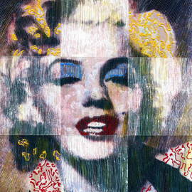 Artist: Marco Mark, title: MARILYN MONROE, 2006, Original Printmaking Giclee