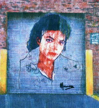 Marco Mark; MICHAEL JACKSON COLLAGE G..., 2006, Original Printmaking Giclee, 16 x 20 inches. Artwork description: 241 MICHAEL JACKSON GICLEE ON GALLERY WRAPPED CANVAS, READY TO HANG. ...