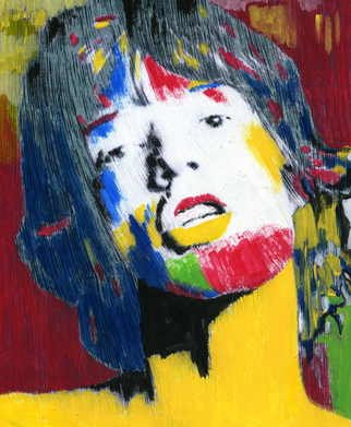 Marco Mark; MICK JAGGER, 2006, Original Printmaking Giclee, 16 x 20 inches. Artwork description: 241  LIMITED EDITION FINE ART PRINT ON PAPER. SIGNED AND DATED. ...