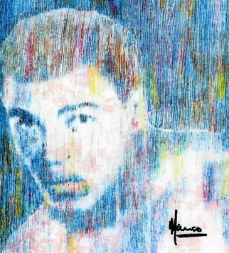 Marco Mark; MUHAMMAD ALI, 2001, Original Printmaking Giclee, 16 x 20 inches. Artwork description: 241  MUHAMMAD ALI FINE ART PASTEL GICLEE PRINT ON WATERCOLOR PAPER.LIMITED EDITION, SIGNED AND DATED. ...