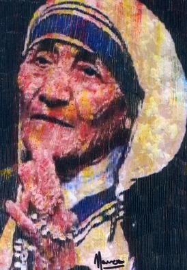 Marco Mark, Mother Theresa, 2005, Original Printmaking Giclee, size_width{Mother_Theresa-1120835454.jpg} X 24 inches