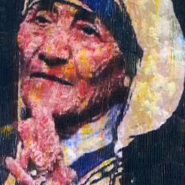 Artist: Marco Mark, title: Mother Theresa, 2005, Original Printmaking Giclee