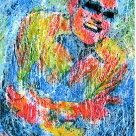 Artist: Marco Mark, title: RAY CHARLES, 2007, Original Printmaking Giclee