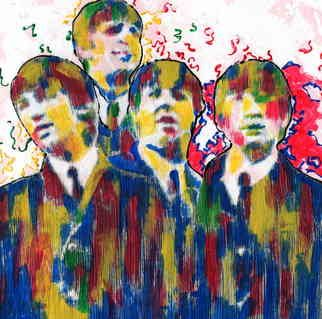 Marco Mark; THE BEATLES COLLAGE 0966, 2005, Original Printmaking Giclee, 16 x 20 inches. Artwork description: 241 THE BEATLES GICLEE ON GALLERY WRAPPED CANVAS, READY TO HANG. ...