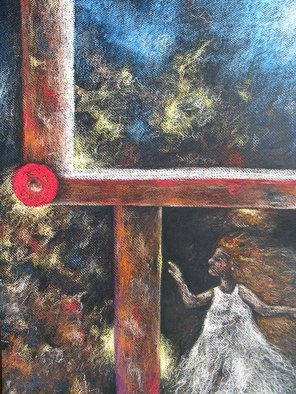 Martha Valentin; Hope, 2007, Original Pastel, 18 x 24 inches. Artwork description: 241  I' m seeing a way out.  There' s hope. ...