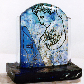 Margaret Stone, , , Original Glass, size_width{The_Gift-1247536180.jpg} X 7 inches