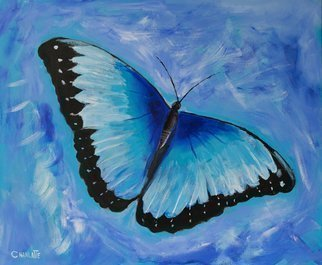 Marino Chanlatte; Flight Of The Butterfly, 2018, Original Painting Acrylic, 24 x 20 inches. Artwork description: 241 Butterflies have been a permanent theme for me painting every year at least one. Free shipping in the continental US. ...