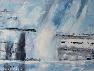 Marino Chanlatte; Ocean 77 Ocean Ice Melting, 2018, Original Painting Oil, 24 x 18 inches. Artwork description: 241 With this new series of painting aEURoeOceansaEURtm ice meltingaEUR I am calling the attention to the climate change and the global warming effects that are happening. We need to do something, but not deny the evidence.Some of the thickest sea ice in the entire Arctic, with ...