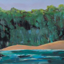 Marino Chanlatte, , , Original Painting Acrylic, size_width{river-1515774554.jpg} X 15 inches