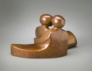 Mark Yale Harris; The Way We Are, 2008, Original Sculpture Bronze, 12 x 6 inches.
