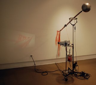 Mark Porter; Projection, 2008, Original Kinetic, 4 x 5 feet.