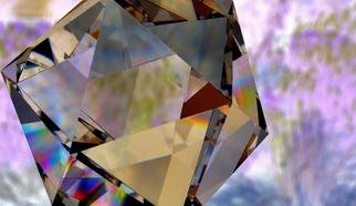 Mark Raynes Roberts; Lavender Prism, 2011, Original Photography Other, 40 x 30 inches. Artwork description: 241 Glasslands Collection...