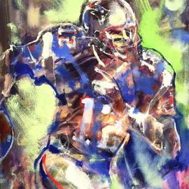 Mark Gray, , , Original Painting Oil, size_width{Tom_Brady_by_Mark_Gray-1540499089.jpg} X 22 inches