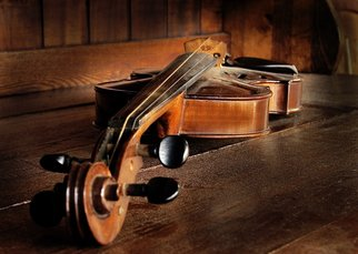 Mark Vaintroub; old violin, 2013, Original Photography Color, 12 x 8 inches. Artwork description: 241 The pictures was taken at the old antique shop in a small Canadian town. ...