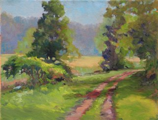 Marsha Savage; Sunny Lane, 2008, Original Painting Oil, 14 x 11 inches. Artwork description: 241  This is from a photograph taken near Ellijay, GA. ...