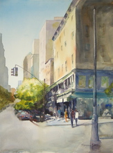 Artist: Maryann Burton's, title: East 19th, 2014, Watercolor