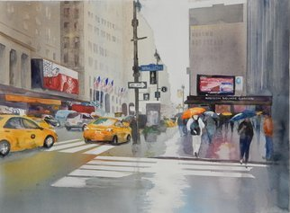 Maryann Burton; MSG, 2015, Original Watercolor, 18 x 24 inches.