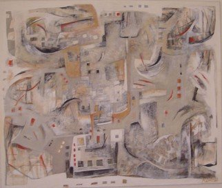 Mayra Lifischtz; DEMOLICION, 2007, Original Painting Acrylic, 120 x 100 cm. Artwork description: 241   URBAN ...
