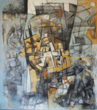 Mayra Lifischtz; SUBURBANOIII, 2014, Original Painting Acrylic, 80 x 90 cm. Artwork description: 241    URBAN  ...