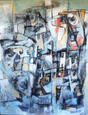 Mayra Lifischtz; SUBURBANO II, 2014, Original Painting Acrylic, 80 x 100 cm. Artwork description: 241    URBAN  ...