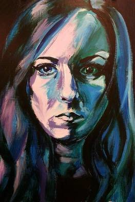 Marisa Dion, Self Portrait, 2016, Original Painting Other,    inches