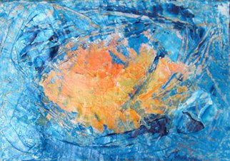 Ana De Medeiros; Aqua Solar, 2008, Original Painting Acrylic, 23 x 15 cm. Artwork description: 241