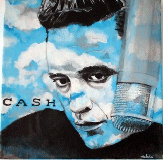 Melcha C; Cash, 2008, Original Painting Acrylic, 12 x 12 inches. Artwork description: 241     About Johnny Cash/ SOLD Acrylic on canvas.      About Marilyn MonroeSOLD    ...