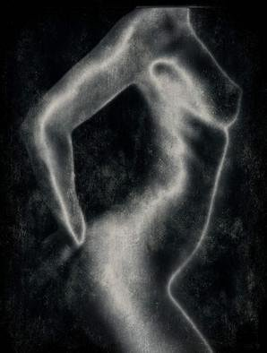 Michael Regnier; Nude Arched, 2010, Original Photography Color, 24 x 32 inches. Artwork description: 241   nude, nudes, women         ...