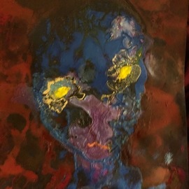 Michael Schaffer, , , Original Mixed Media, size_width{Tim_Alien-1554233038.jpg} X 12 inches