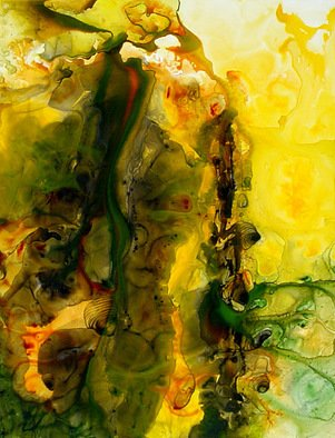 Micheline Hadjis; Genesis, 2008, Original Mixed Media, 20 x 26 inches. Artwork description: 241 Genesis is my newest exploration into the world of Abstract. Composition with Fluid acrylic on the japanese paper called Yupo. . . Stunning effects. . . unique and can never be recreated. . . Original SoldReproductions on paper or canvas available. Contact the artist at michelinehadjis@ hotmail. com...