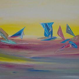Michael Puya, , , Original Painting Acrylic, size_width{Against_The_Wind-1440866612.jpg} X 12 inches