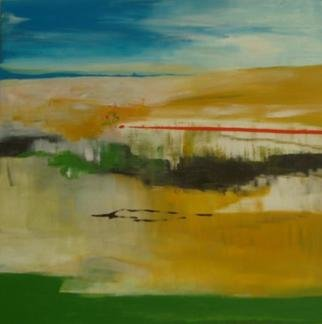 Michael Puya; weites land, 2012, Original Painting Acrylic, 20 x 20 inches.