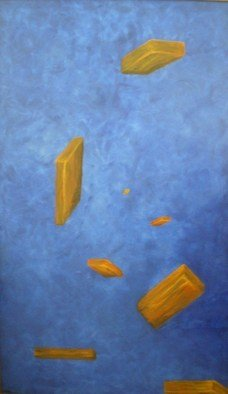Mya Miyadri Miguel Moya Adriano; Position Universal, 2008, Original Painting Oil, 100 x 170 cm. Artwork description: 241  The unknow position in the Univers. ...