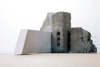 Mikael Hansen; Model, 2005, Original Sculpture Other, 45 x 25 cm. Artwork description: 241 Model in cement, plaster and iron for public sculpture in large scale. ...