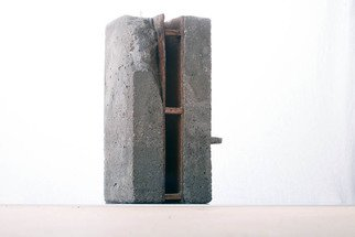 Mikael Hansen; Model, 1995, Original Sculpture Other, 16 x 35 cm. Artwork description: 241 Model in cement and wood for public sculpture in large scale...